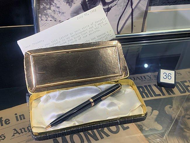 La carta de la propia Marilyn Monroe hacia el periodista Truman Capote