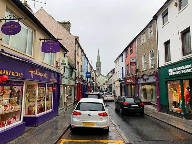 Calles irlandesas