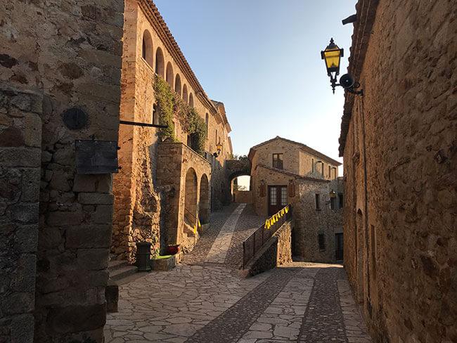 Centro histórico de Pals