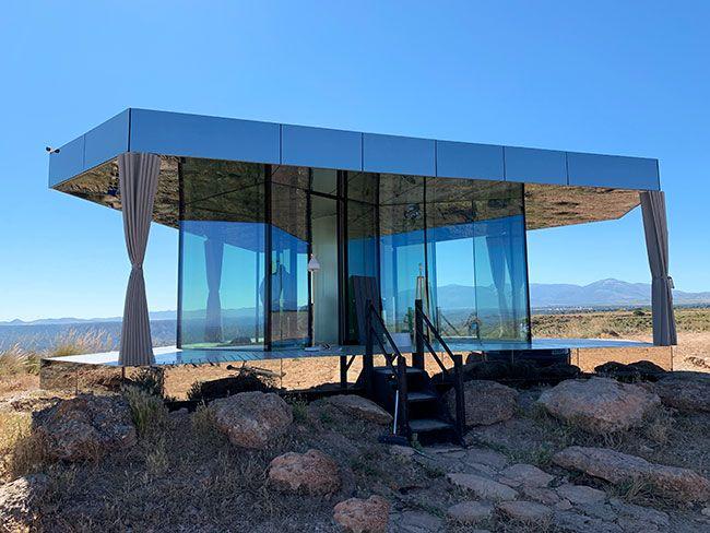 La casa del desierto de Gorafe te permite disfrutar de un aislamiento total
