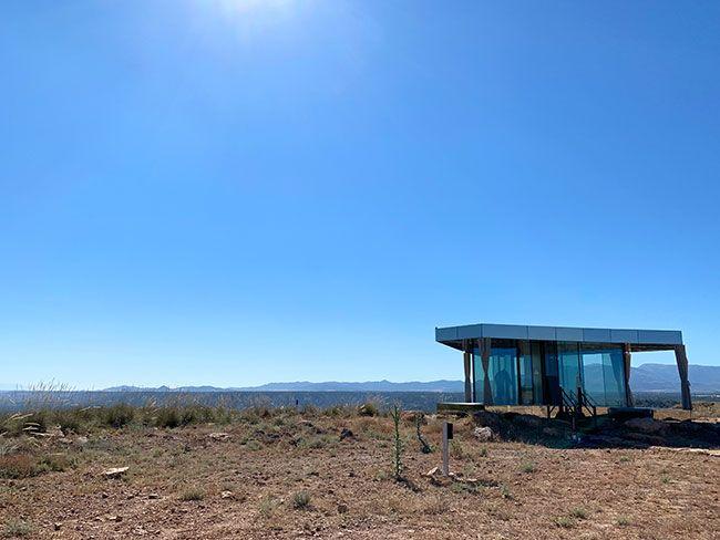 La casa del Desierto en Gorafe, Granada