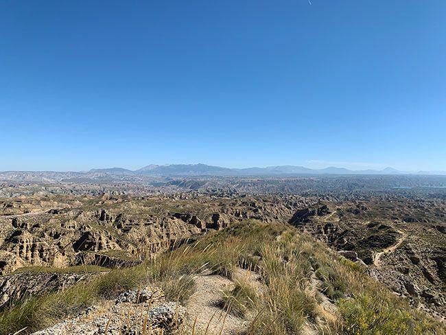Mirador del Gorafe, una de las partes más impresionantes de la ruta