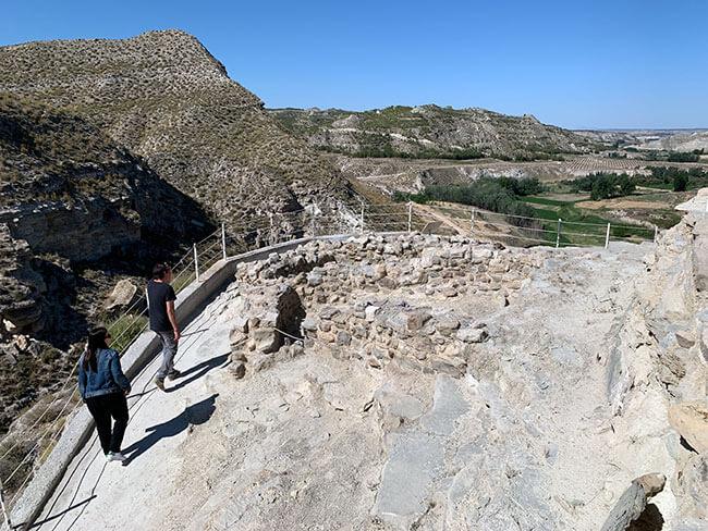 El yacimiento arqueológico de Castellón Alto