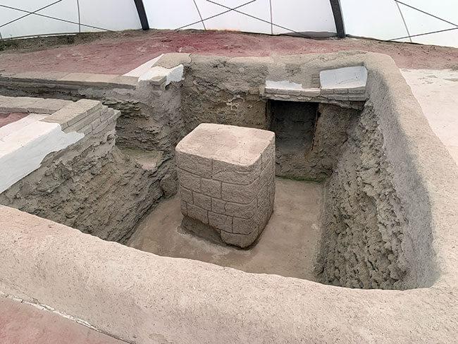 Tumba ibérica donde se encontraba la Diosa de Galera
