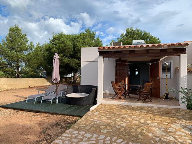 Nuestra casita en Formentera