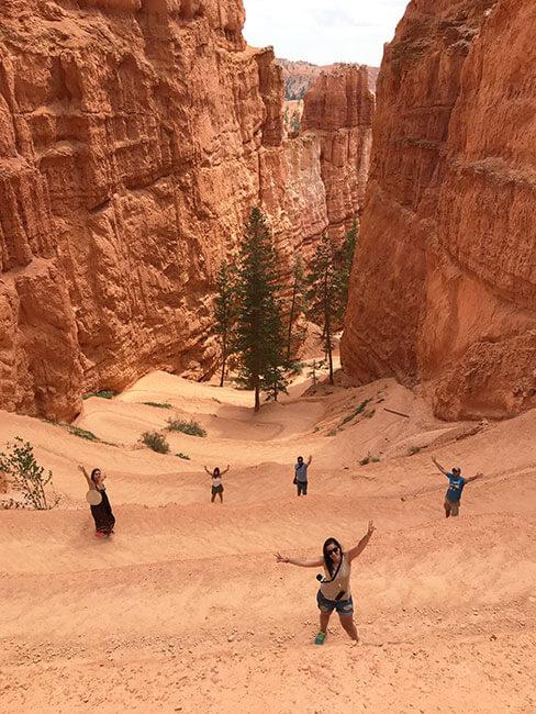 Bryce Canyon es un parque ideal para disfrutar y maravillarse de la naturaleza