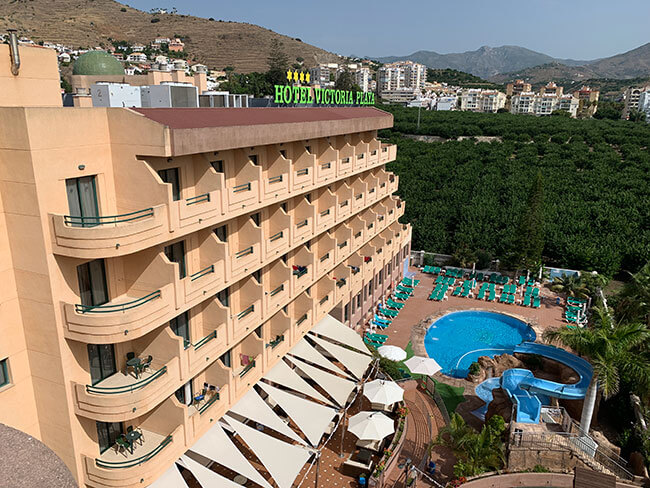 El hotel Victoria Playa situado en la localidad de Almuñecar
