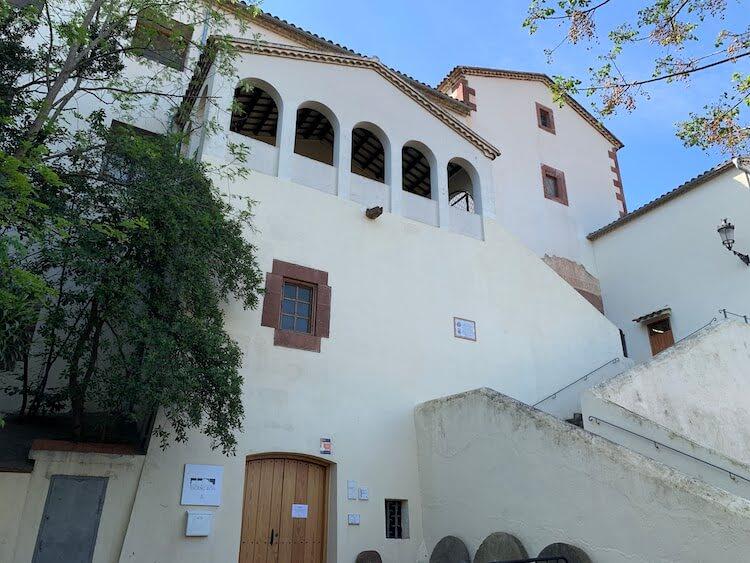 Exterior del convento capuchino de Martorell