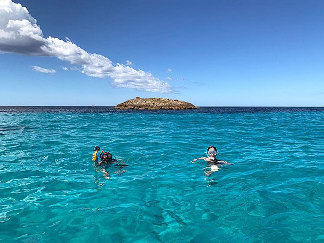 Las aguas cristalinas de las playas de Formentera
