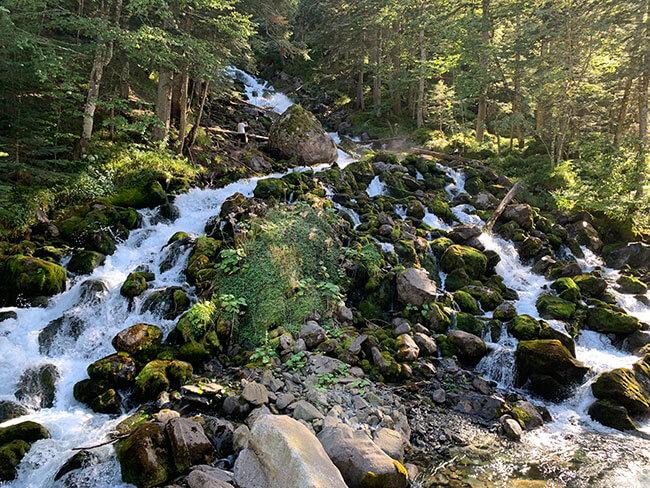 Fuentes del río Joèu
