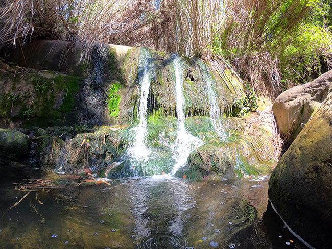Cascada en la riera de Corbera