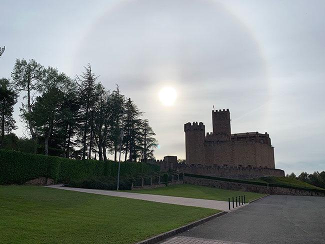 Castillo de Javier, se puede visitar