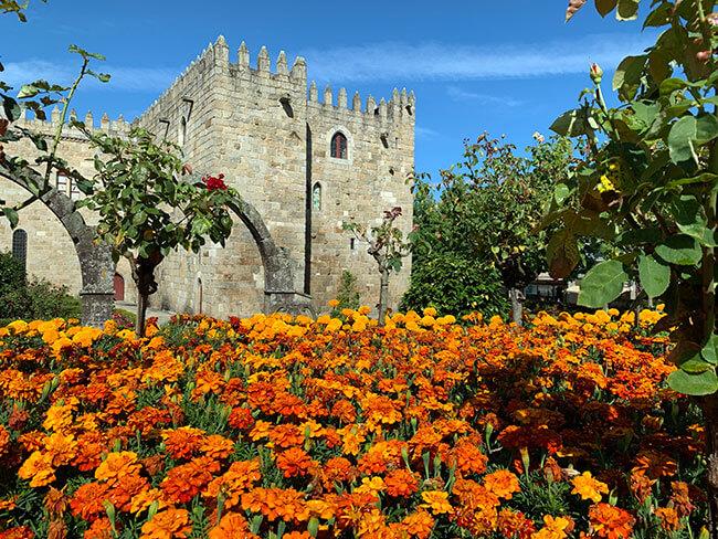 El jardín de Guimarães