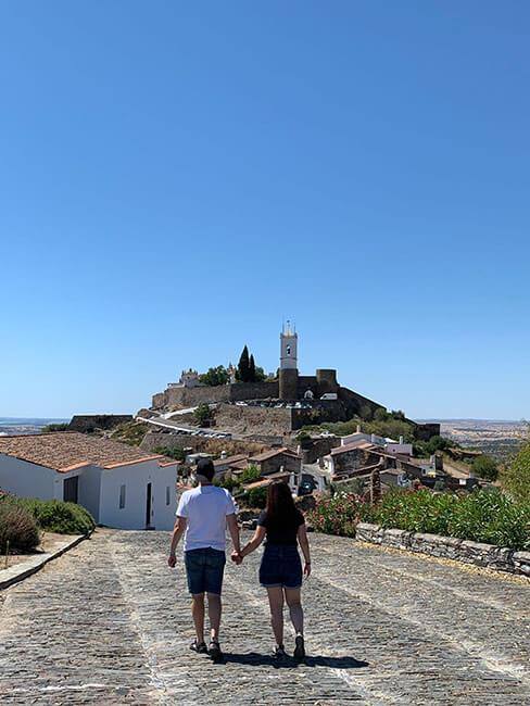 El pueblo de Serpa en Portugal