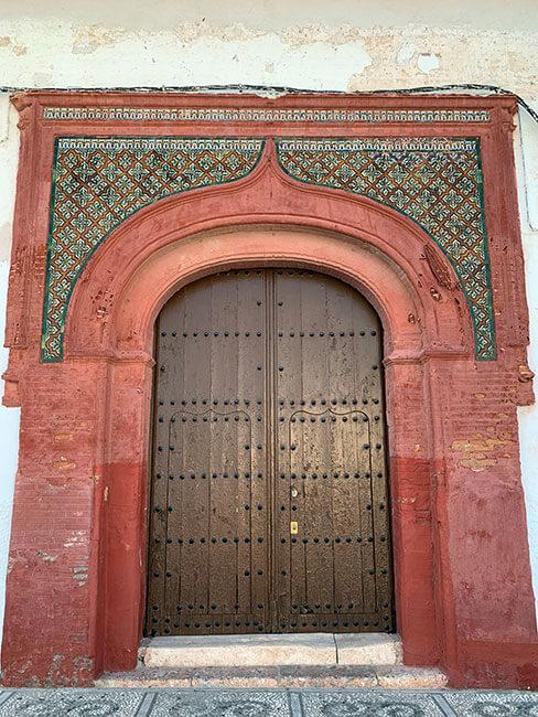 Puerta Iglesia Nuestra Señora del Rosario