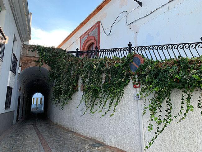 Pasadizo bajo la Iglesia Nuestra Señora del Rosario