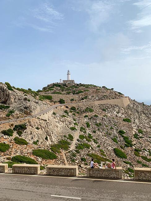 El faro de Formentor en Mallorca