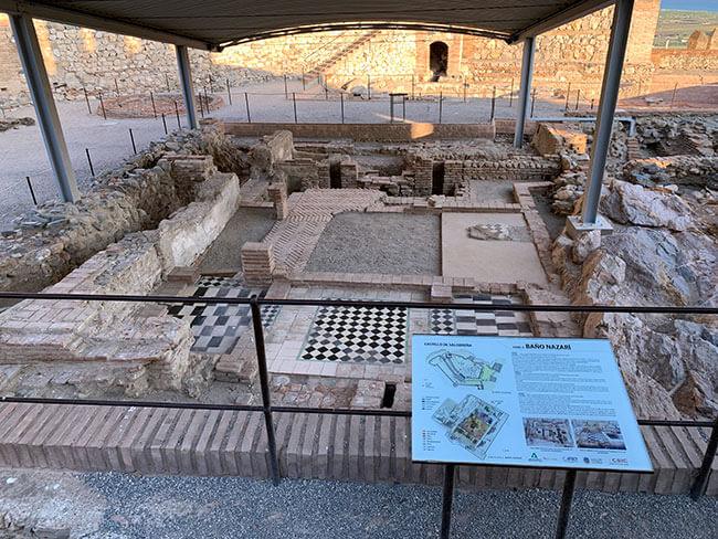 baños nazaríes del siglo XIV