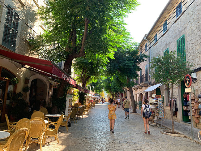 Valldemosa en Mallorca