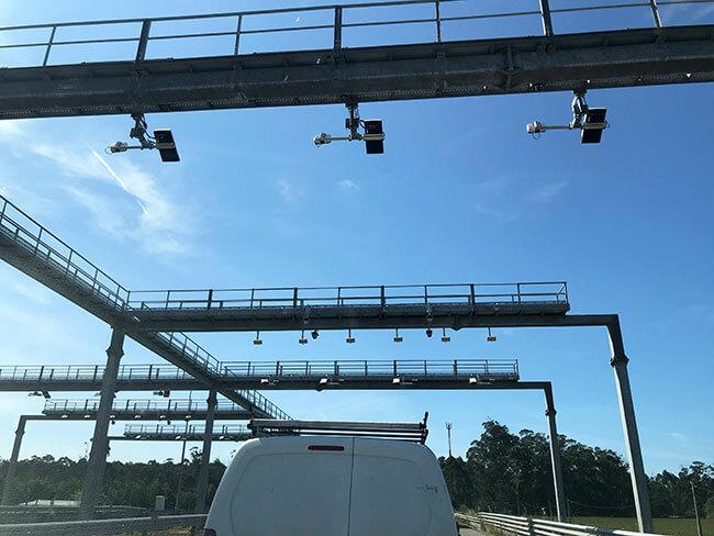 Cámaras de video de las autopistas de Portugal
